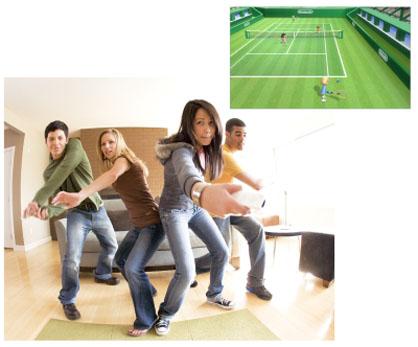 Wii SportsTennis